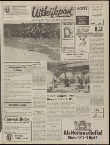 Uitkijkpost : nieuwsblad voor Heiloo e.o. 1986-02-26