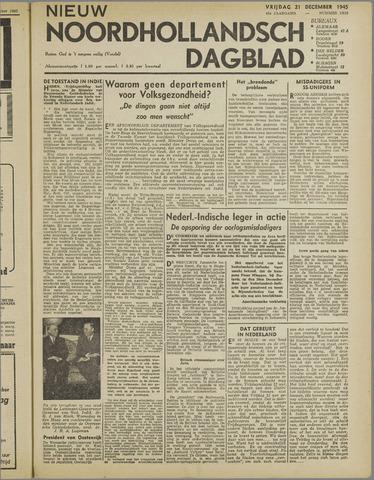 Nieuw Noordhollandsch Dagblad : voor Alkmaar en omgeving 1945-12-21