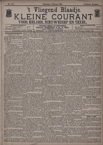 Vliegend blaadje : nieuws- en advertentiebode voor Den Helder 1890-02-05