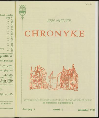Een Nieuwe Chronyke van het Schermereiland 1992-09-01