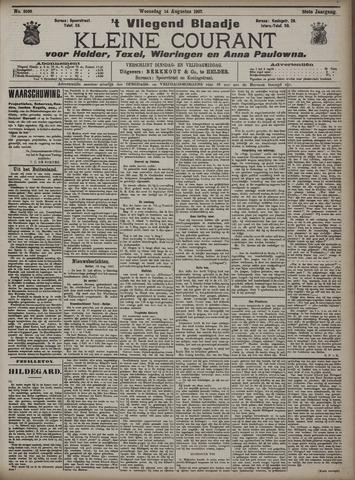 Vliegend blaadje : nieuws- en advertentiebode voor Den Helder 1907-08-14