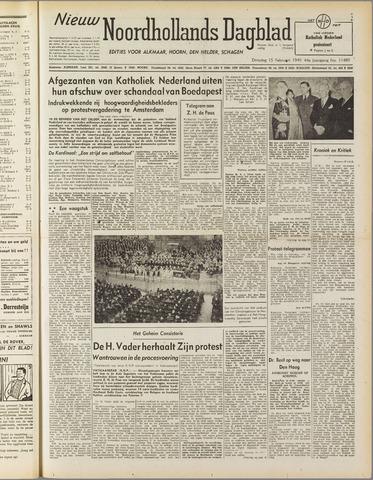 Nieuw Noordhollandsch Dagblad : voor Alkmaar en omgeving 1949-02-15