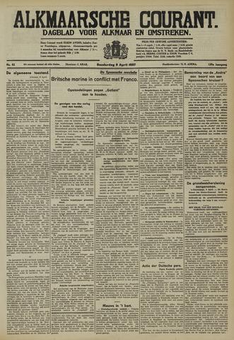 Alkmaarsche Courant 1937-04-08