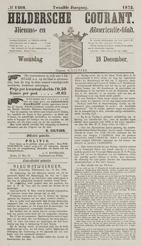 Heldersche Courant 1872-12-18