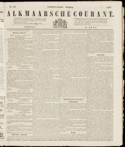 Alkmaarsche Courant 1876-06-11