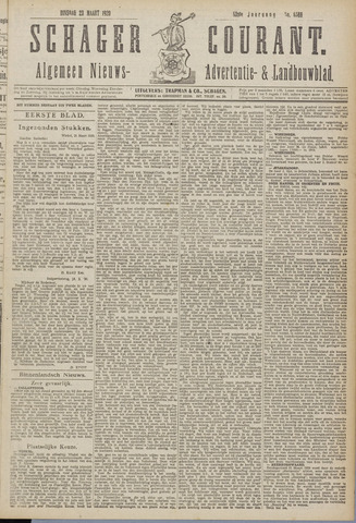 Schager Courant 1920-03-23