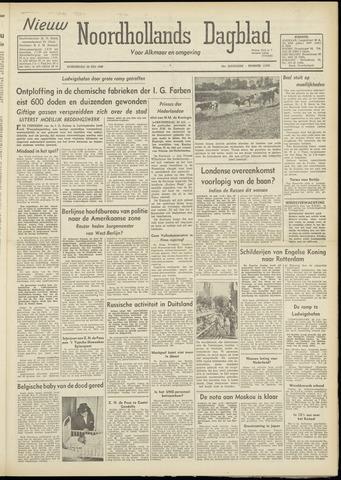 Nieuw Noordhollandsch Dagblad : voor Alkmaar en omgeving 1948-07-29