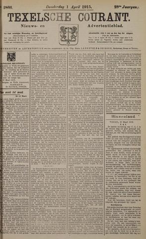 Texelsche Courant 1915-04-01