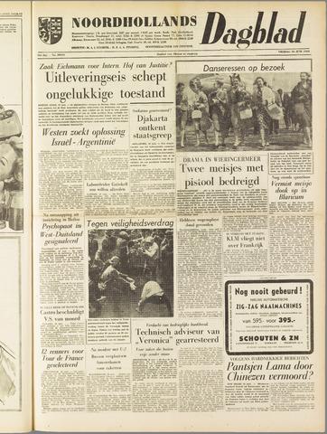 Noordhollands Dagblad : dagblad voor Alkmaar en omgeving 1960-06-10