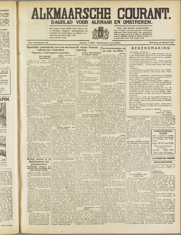 Alkmaarsche Courant 1941-02-26