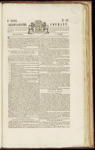 Alkmaarsche Courant 1844-07-01