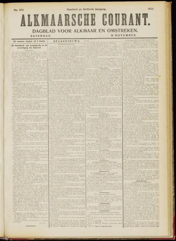 Alkmaarsche Courant 1911-11-18