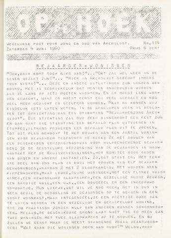 Op De Hoek, weekblad voor Akersloot 1960-06-04