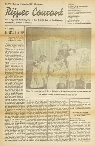 Rijper Courant 1947-08-30