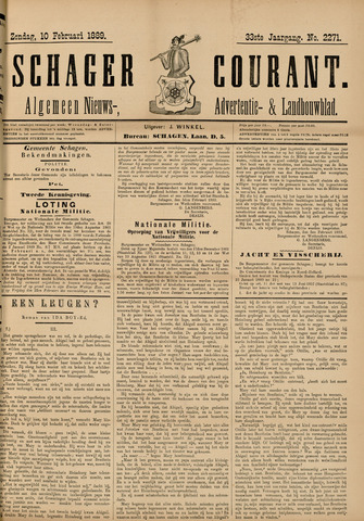 Schager Courant 1889-02-10