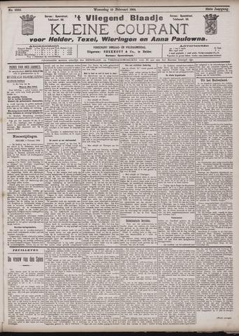 Vliegend blaadje : nieuws- en advertentiebode voor Den Helder 1904-02-10