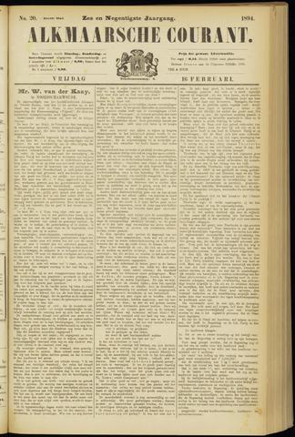 Alkmaarsche Courant 1894-02-16