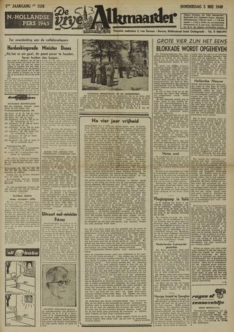 De Vrije Alkmaarder 1949-05-05