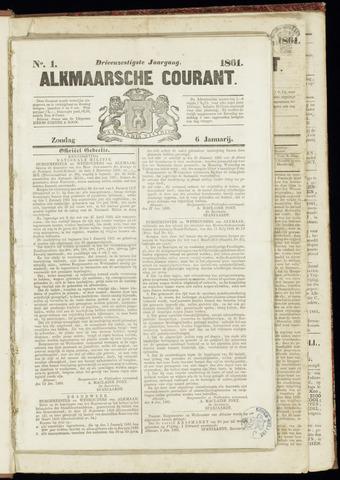 Alkmaarsche Courant 1861-01-06