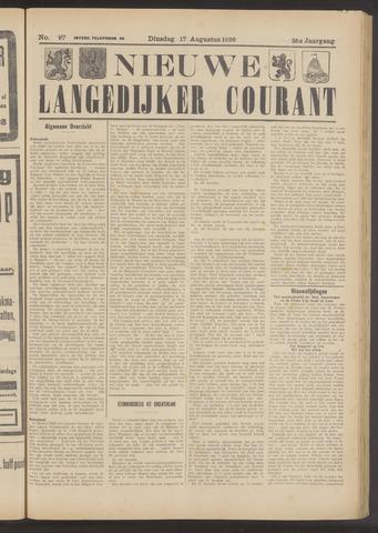 Nieuwe Langedijker Courant 1926-08-17