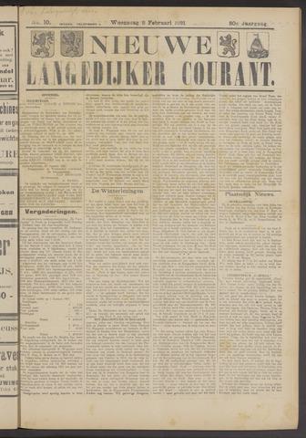 Nieuwe Langedijker Courant 1921-02-02