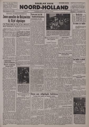Dagblad Noord-Holland, Schager editie 1942-12-14