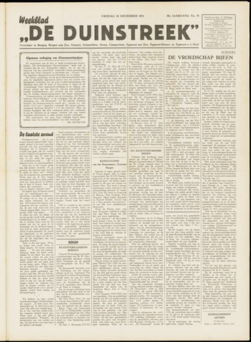 De Duinstreek 1951-12-28