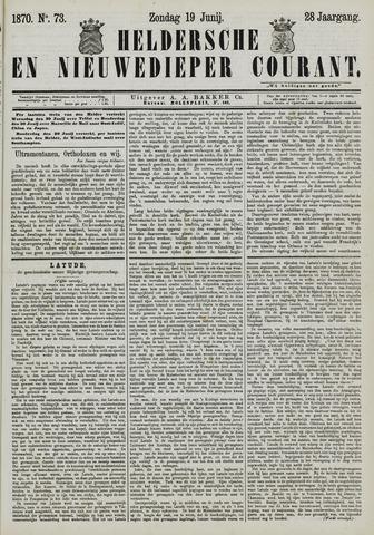 Heldersche en Nieuwedieper Courant 1870-06-19