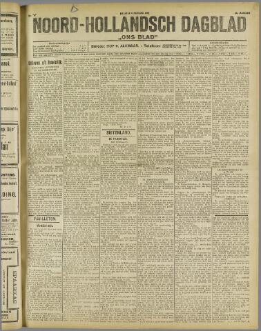 Ons Blad : katholiek nieuwsblad voor N-H 1922-02-06