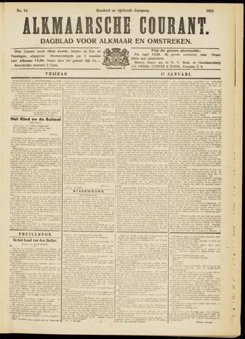 Alkmaarsche Courant 1913-01-17