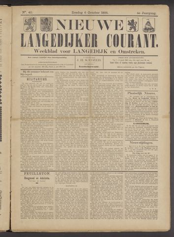 Nieuwe Langedijker Courant 1895-10-06