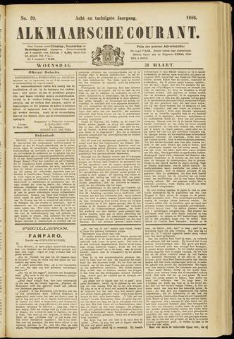 Alkmaarsche Courant 1886-03-31