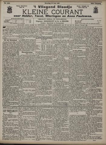 Vliegend blaadje : nieuws- en advertentiebode voor Den Helder 1907-06-29