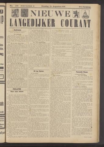 Nieuwe Langedijker Courant 1926-08-24