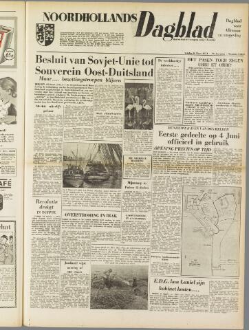 Noordhollands Dagblad : dagblad voor Alkmaar en omgeving 1954-03-26