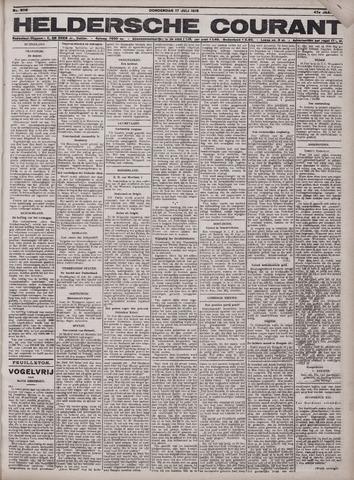 Heldersche Courant 1919-07-17