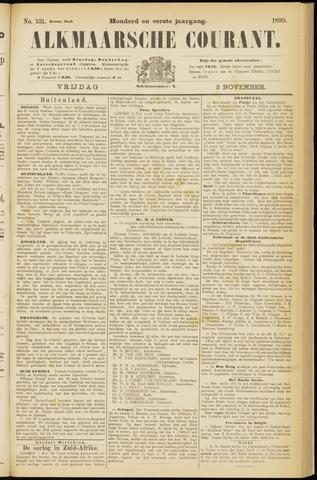 Alkmaarsche Courant 1899-11-03