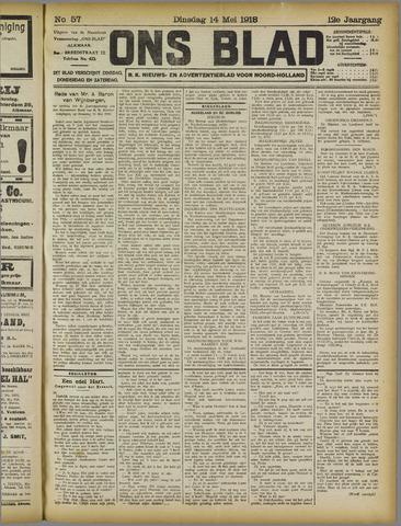 Ons Blad : katholiek nieuwsblad voor N-H 1918-05-14