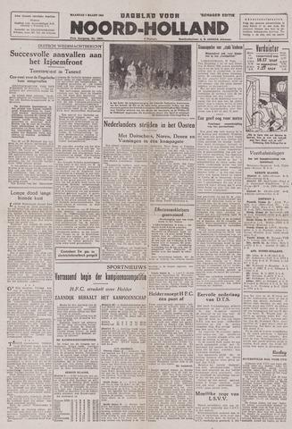 Dagblad Noord-Holland, Schager editie 1943-03-01