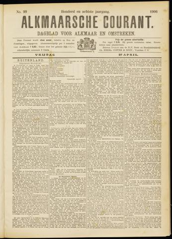 Alkmaarsche Courant 1906-04-27