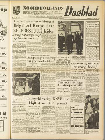 Noordhollands Dagblad : dagblad voor Alkmaar en omgeving 1959-01-14
