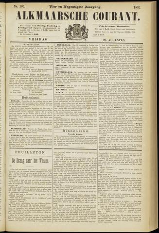 Alkmaarsche Courant 1892-08-26