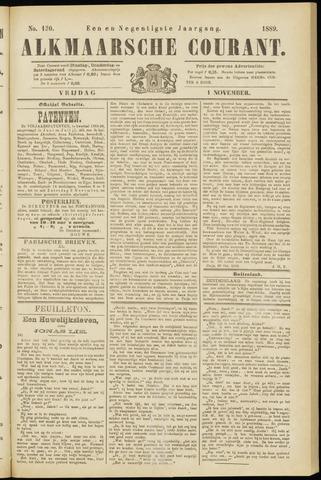 Alkmaarsche Courant 1889-11-01