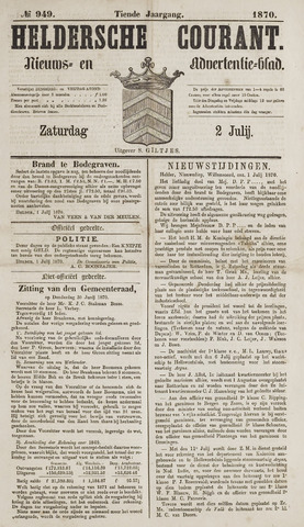 Heldersche Courant 1870-07-02