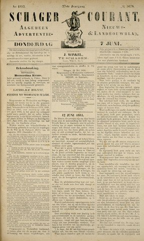 Schager Courant 1883-06-07