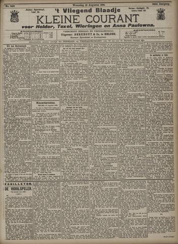 Vliegend blaadje : nieuws- en advertentiebode voor Den Helder 1906-08-29