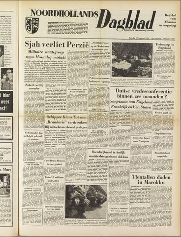 Noordhollands Dagblad : dagblad voor Alkmaar en omgeving 1953-08-17