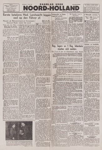 Dagblad Noord-Holland, Schager editie 1943-06-01