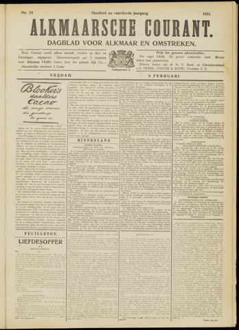 Alkmaarsche Courant 1912-02-09