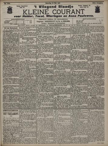 Vliegend blaadje : nieuws- en advertentiebode voor Den Helder 1907-05-25